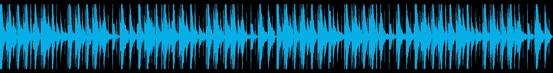 ピアノLofi Hiphopの再生済みの波形
