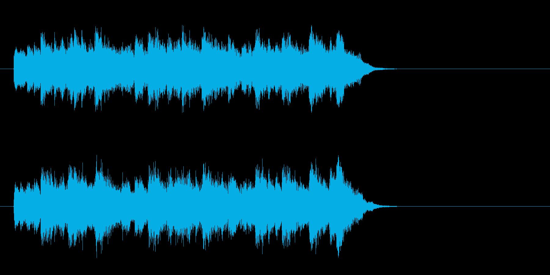 透明なポップバラード(サビ)の再生済みの波形