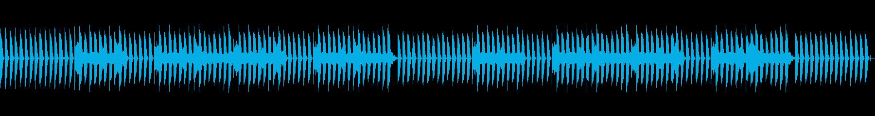 気の抜けたピアノのジングル3(ループ)の再生済みの波形