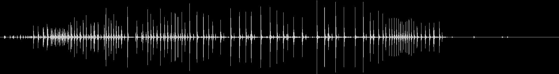 【生録音】ぎゅーっと強く握り締める音 2の未再生の波形