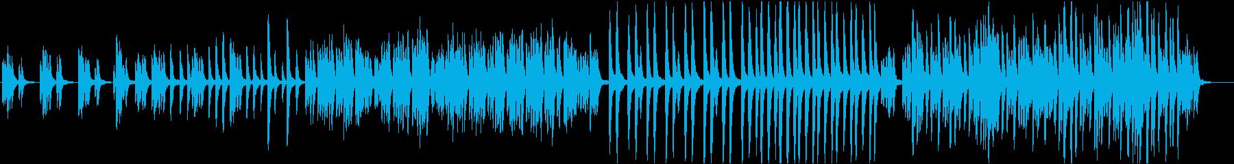 神秘的な森の中/マリンバ系 BGMの再生済みの波形