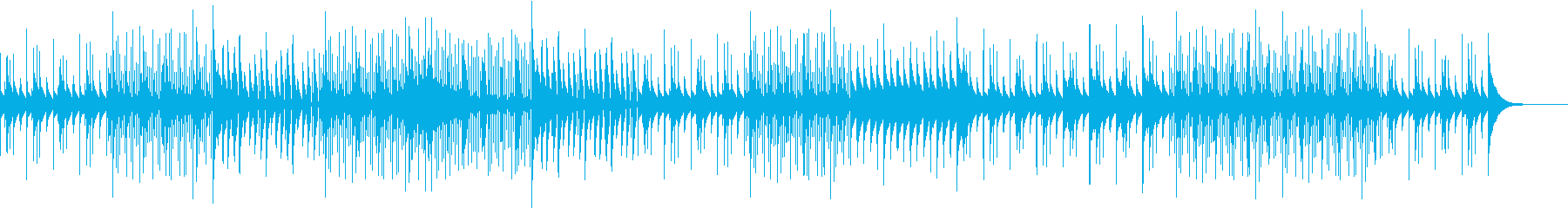 マリンバとトライアングルがキレイに奏でるの再生済みの波形