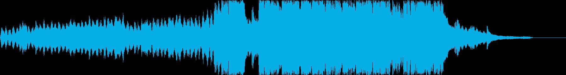 上品でわくわくした美しい紹介BGMの再生済みの波形