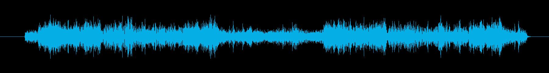 ノイズ ゴミスラップ02の再生済みの波形