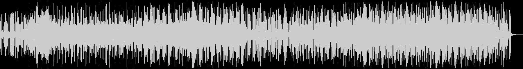 エレキギターが耳に残るディスコサウンドの未再生の波形