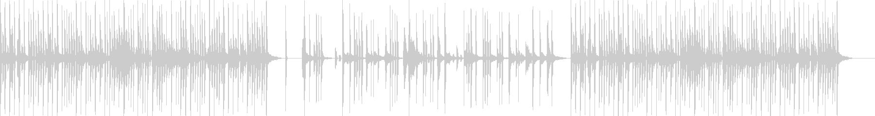 アニメの戦闘シーンBGMですの未再生の波形