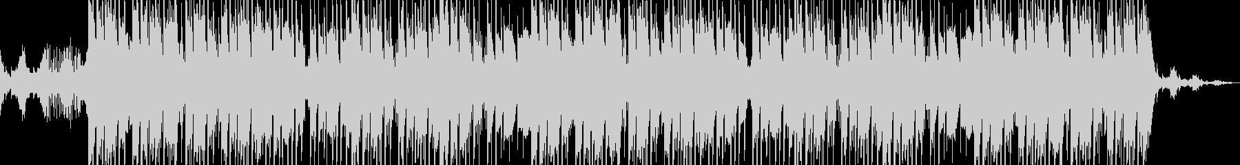 幻想的なヒップホップ・トラップの未再生の波形