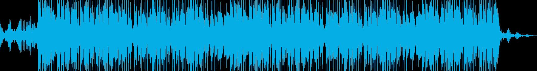 幻想的なヒップホップ・トラップの再生済みの波形