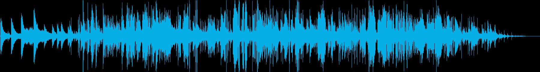 フリージャズの静かで構造化されてい...の再生済みの波形