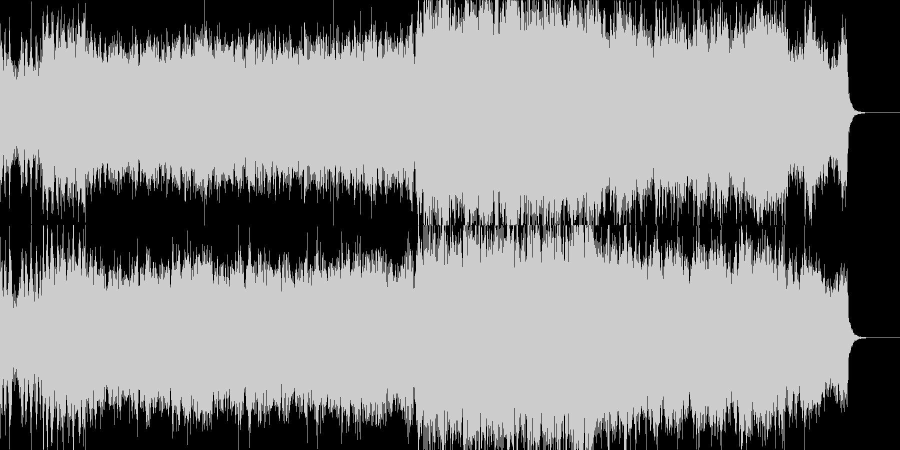 近未来なオーケストラ/テクノの未再生の波形