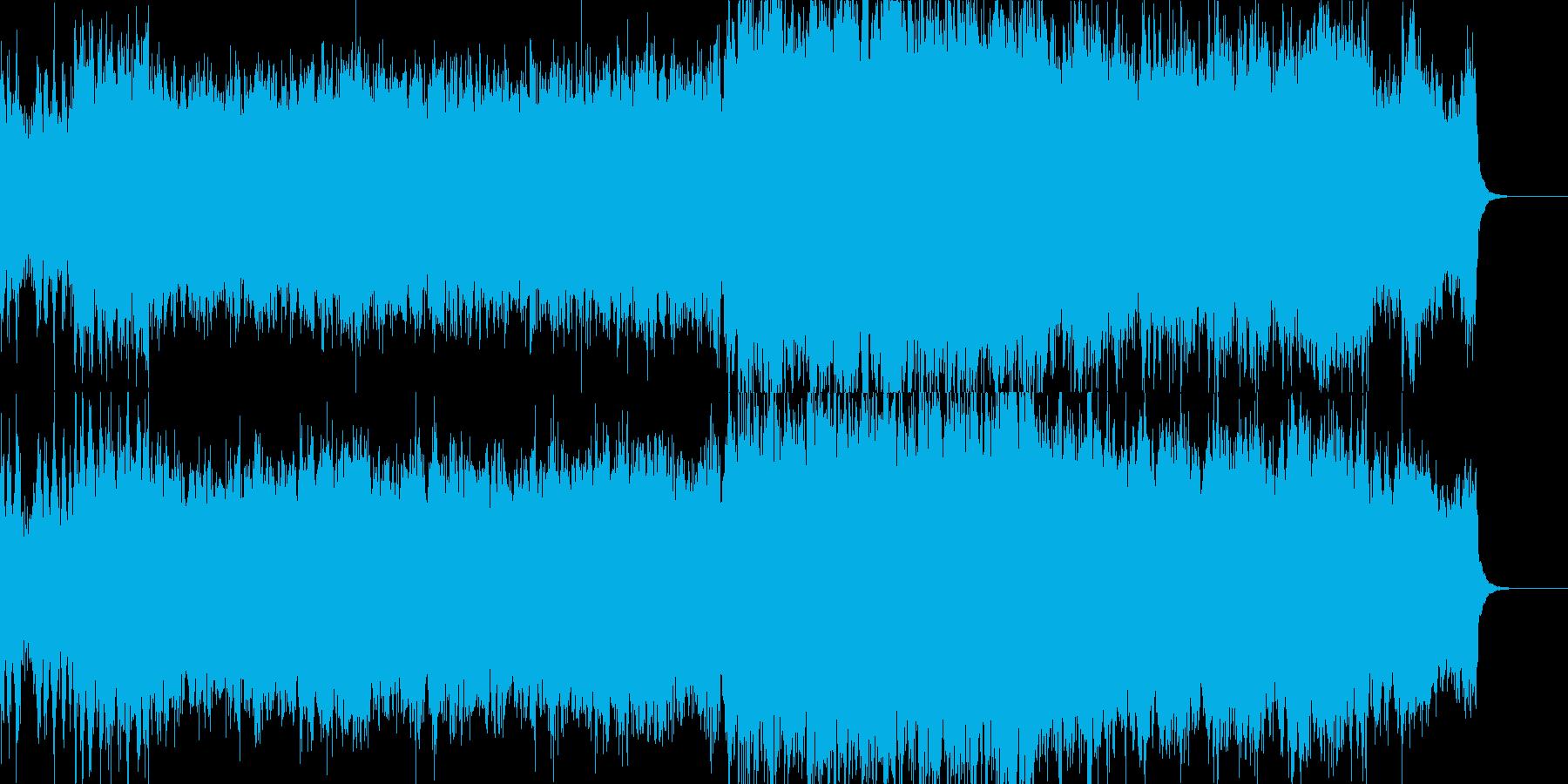 近未来なオーケストラ/テクノの再生済みの波形