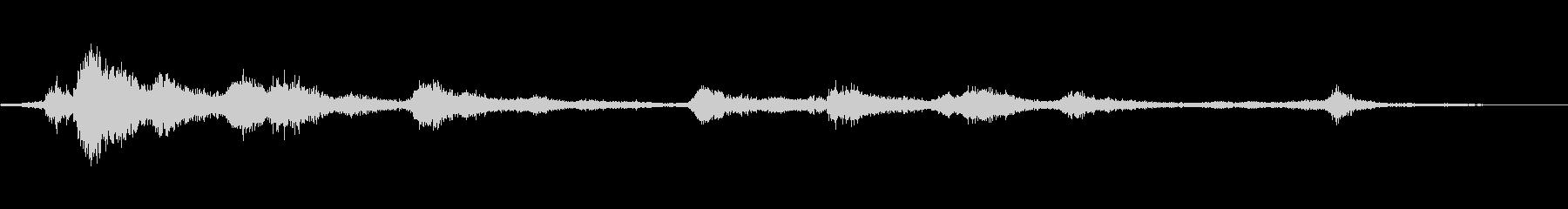 進化するエアリーメタルモーフィングの未再生の波形