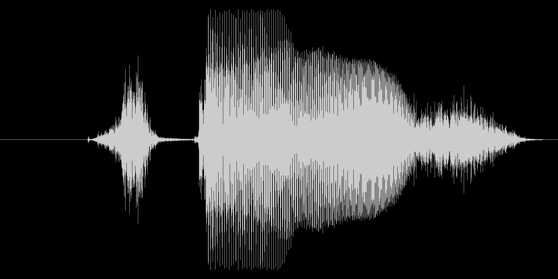 ステージ○○(英語Stage)パターンAの未再生の波形