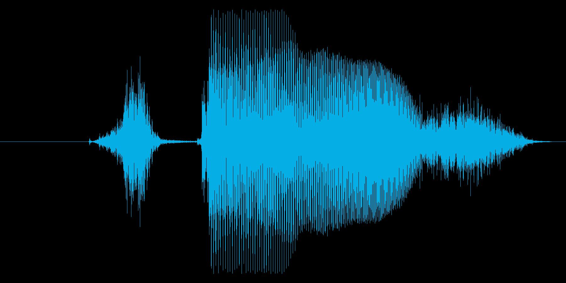 ステージ○○(英語Stage)パターンAの再生済みの波形