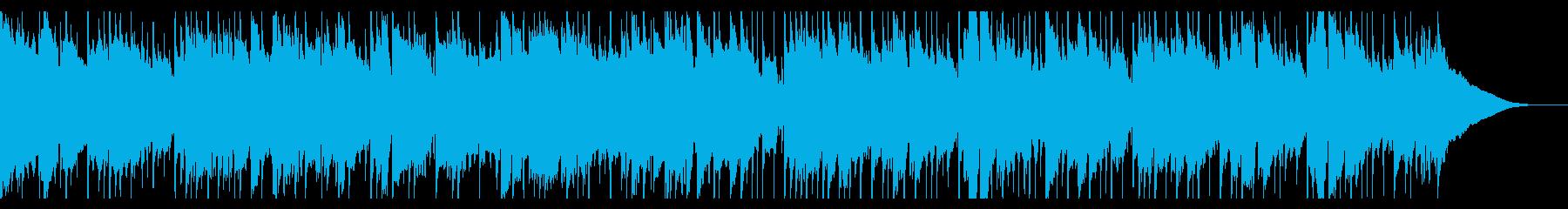生音・アコースティックギターのバラードの再生済みの波形
