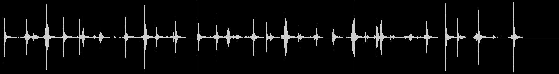 キーボード 長め(ワープロ) カタタタッの未再生の波形