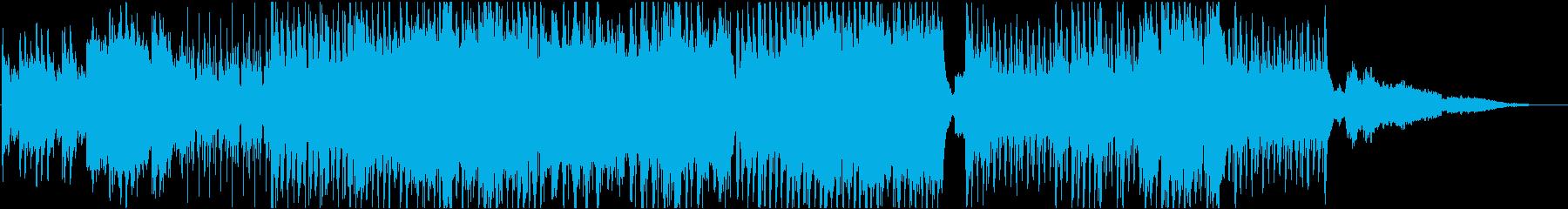 放浪をイメージしたケルト音楽の再生済みの波形