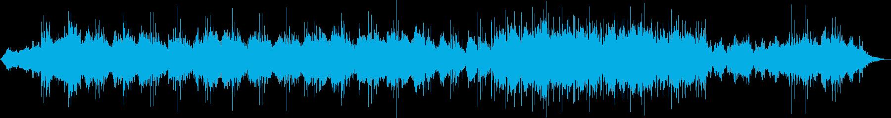 ホラー・サスペンス湿度感じる不気味な曲の再生済みの波形