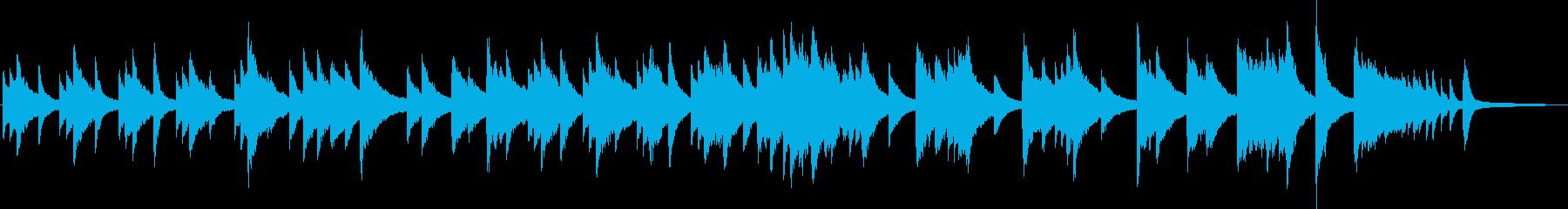ピアノ演奏/ワイン・チーズ等が熟成する音の再生済みの波形