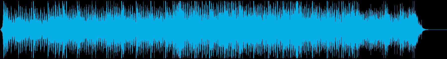 クリーンな企業・VP系BGMの再生済みの波形