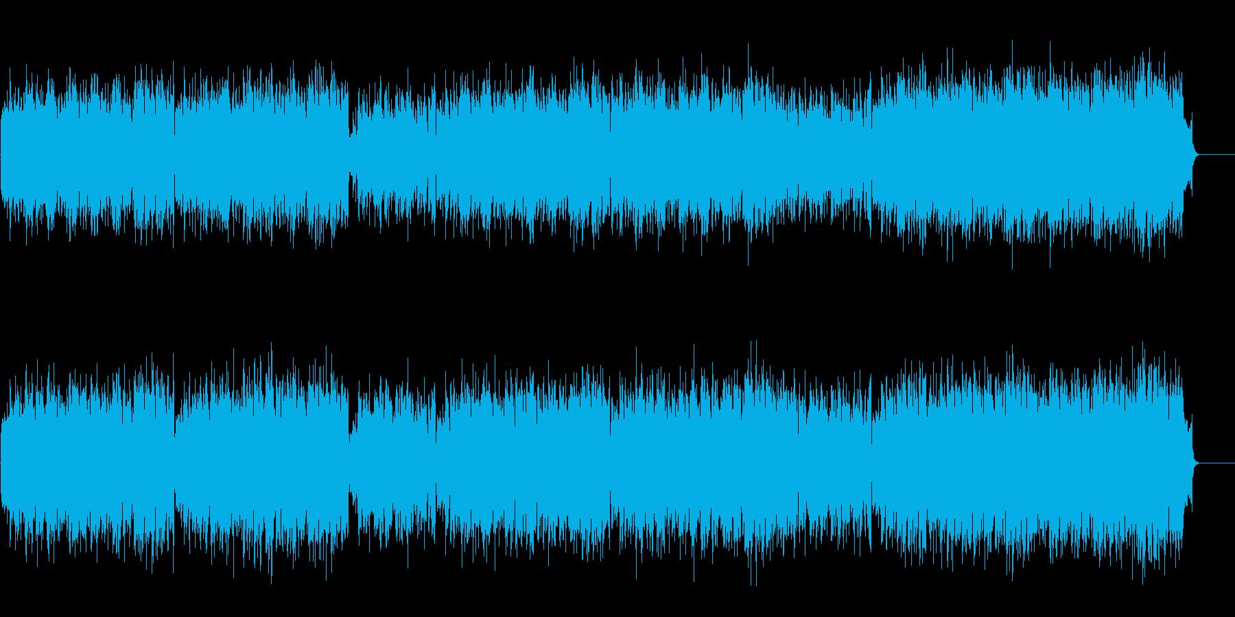 60年代全盛の正統派楽団風の再生済みの波形