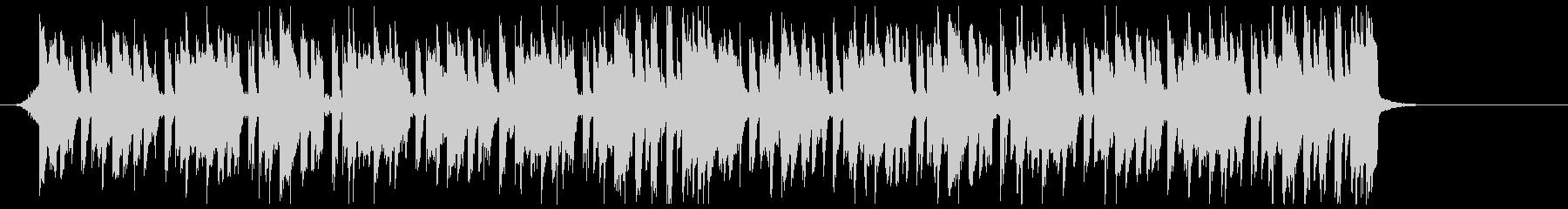 K-POP、EDM、ディスコ cの未再生の波形