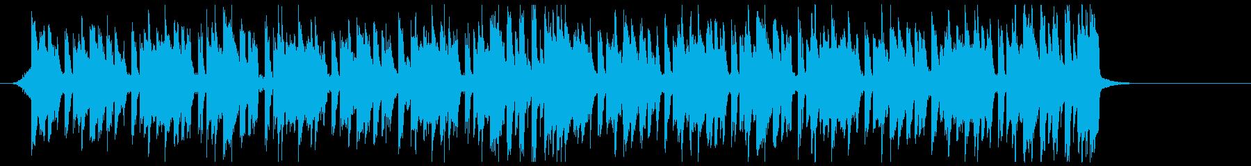 K-POP、EDM、ディスコ cの再生済みの波形