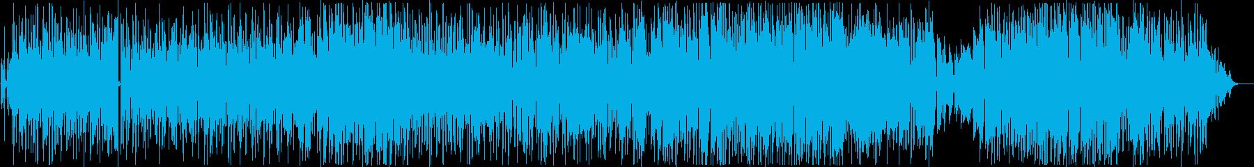 ゆったりしたリズム・切ないメロディーの再生済みの波形