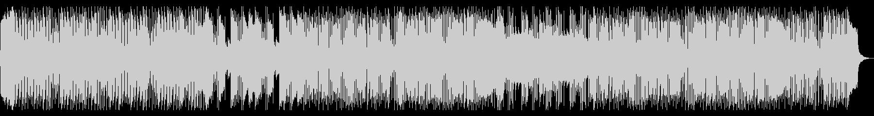 テンポがはやく、かわいめのハロウィン曲の未再生の波形