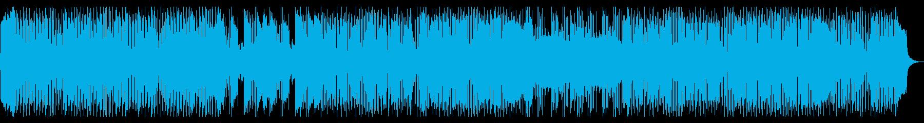 テンポがはやく、かわいめのハロウィン曲の再生済みの波形