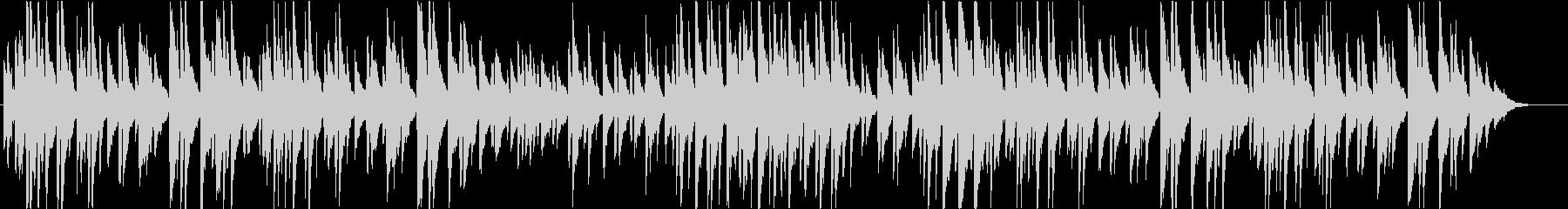 分かりやすいメロディーラインのポップスの未再生の波形