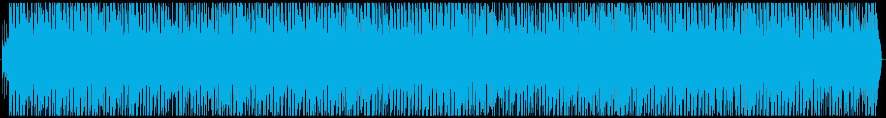 明るく元気なポップCMソングの再生済みの波形