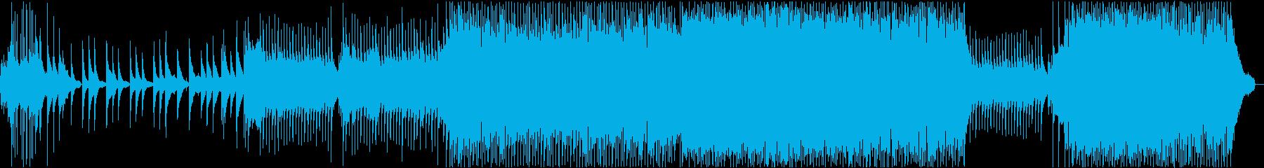 切ない・感動・ドキュメンタリーの再生済みの波形