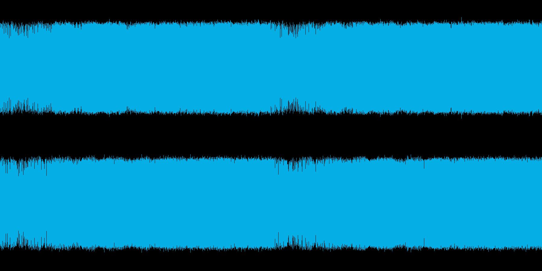 中盤戦を思わせる空気感ある電子系の曲<…の再生済みの波形