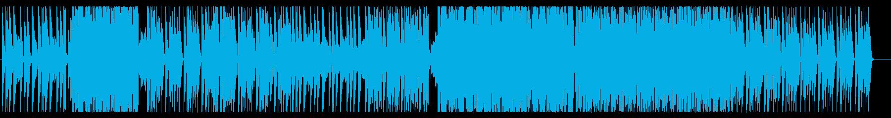 おしゃれなトロピカルハウスの再生済みの波形