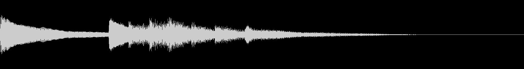 正月!琴!一番有名な曲のジングル版1の未再生の波形