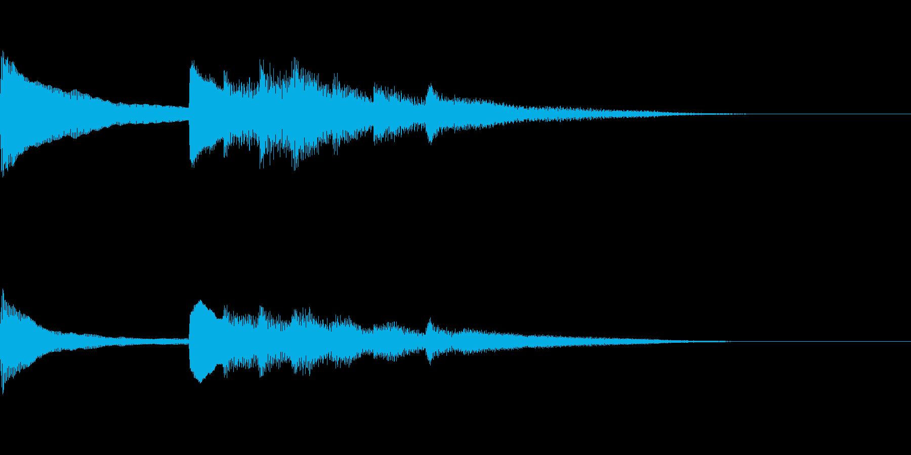 正月!琴!一番有名な曲のジングル版1の再生済みの波形