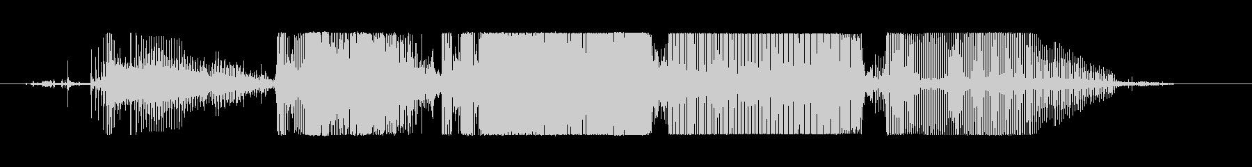 モーターサイクル、ハーレー、モータ...の未再生の波形