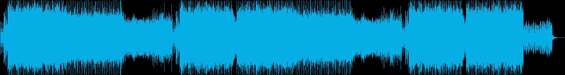 EDM・エモーショナル・挑戦・CMの再生済みの波形