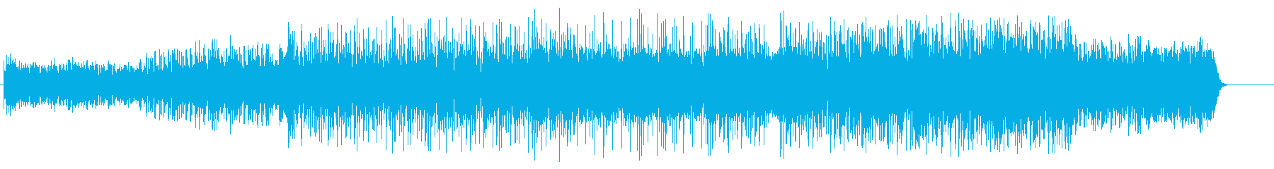 トリップ物、シュールなハウスの再生済みの波形