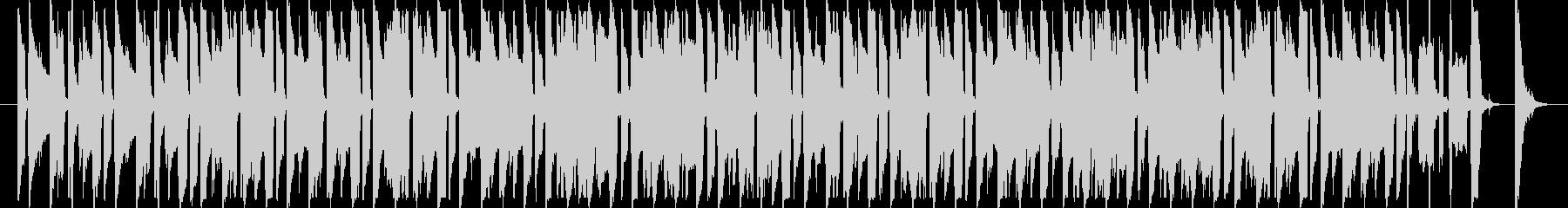 モータウンビートのウキウキBGMの未再生の波形