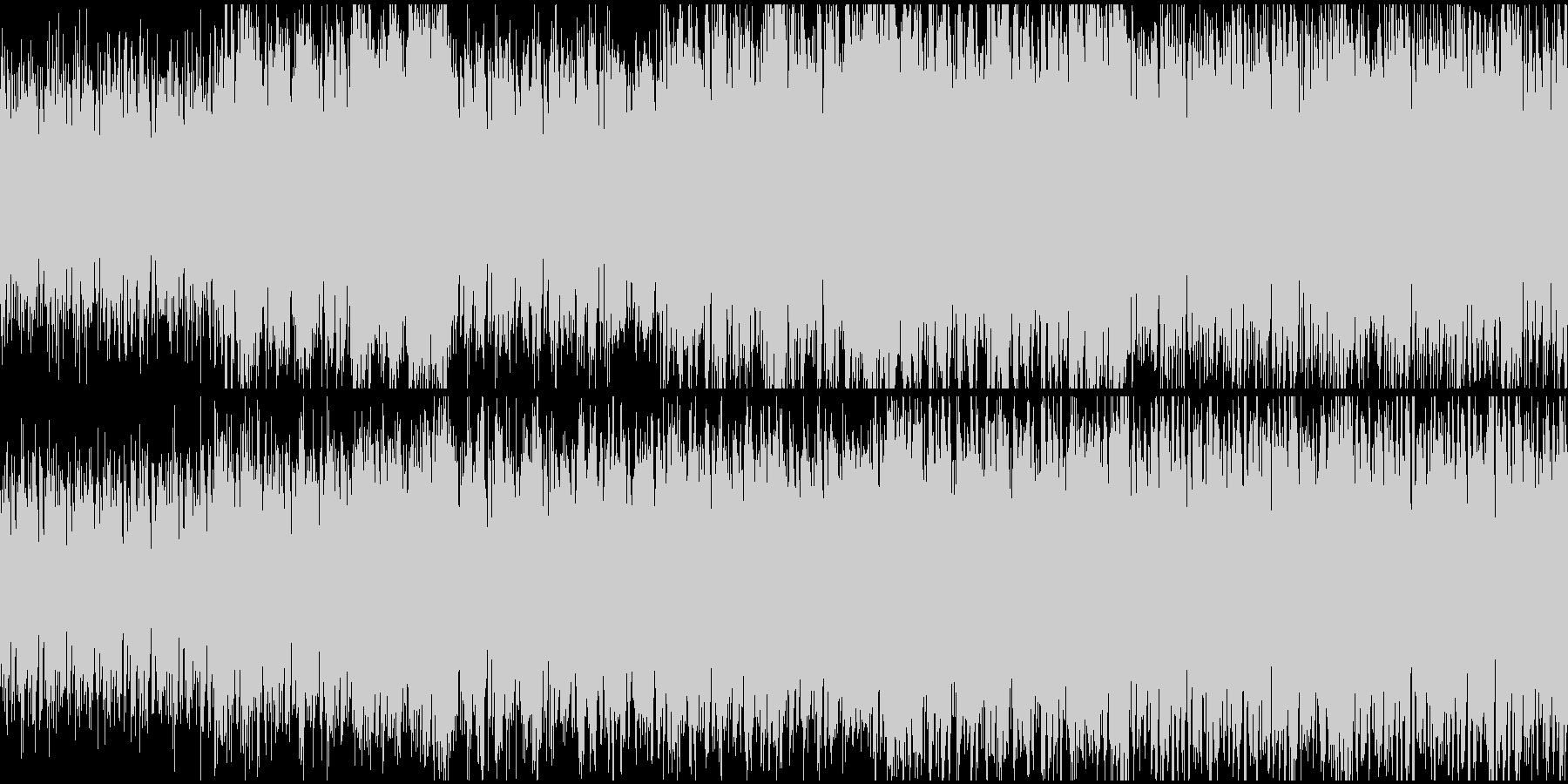 神秘的なケルト風の曲の未再生の波形