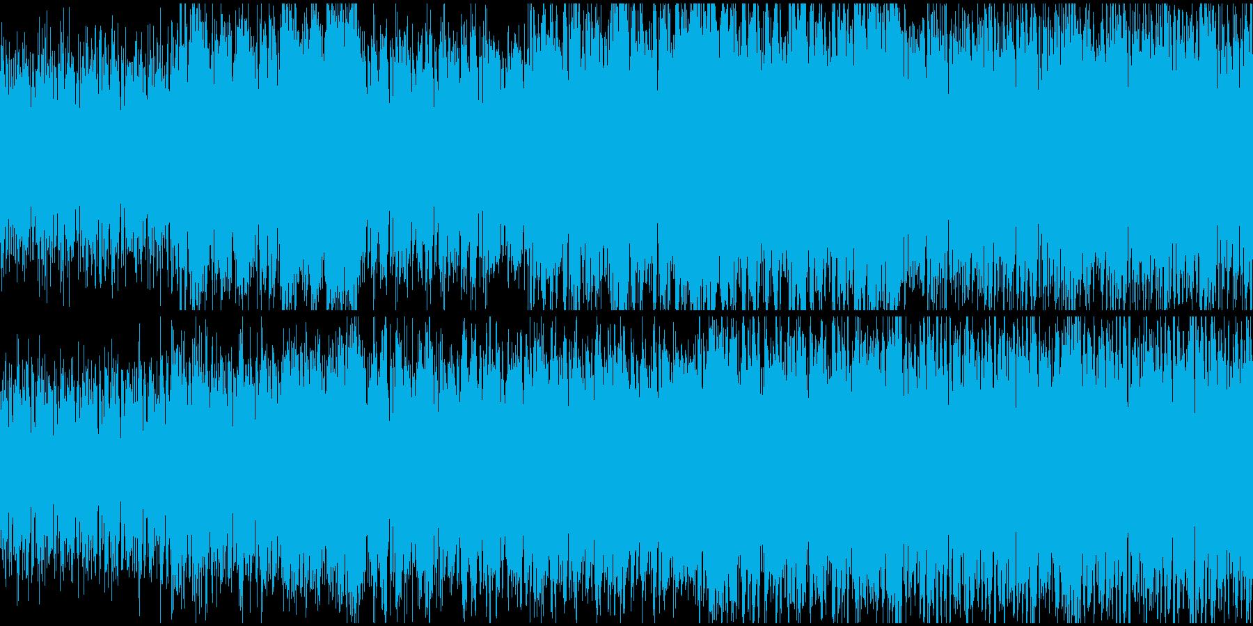 神秘的なケルト風の曲の再生済みの波形