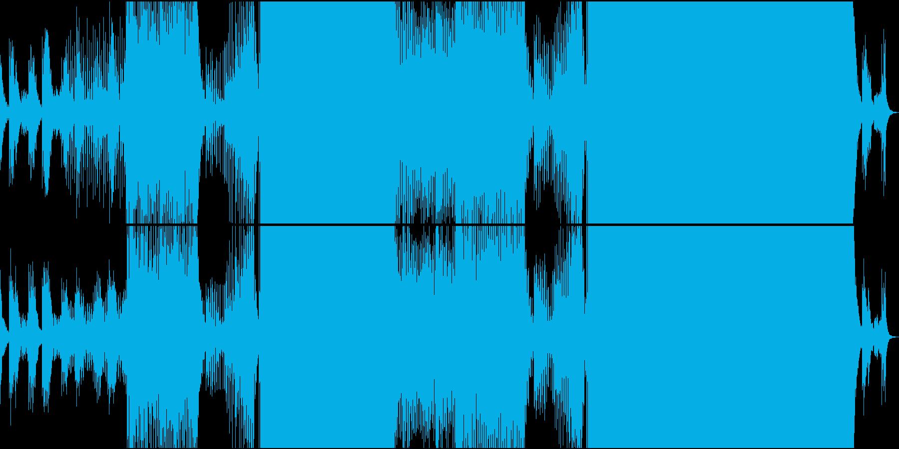 夢の中に居るような爽やかで開放的なEDMの再生済みの波形