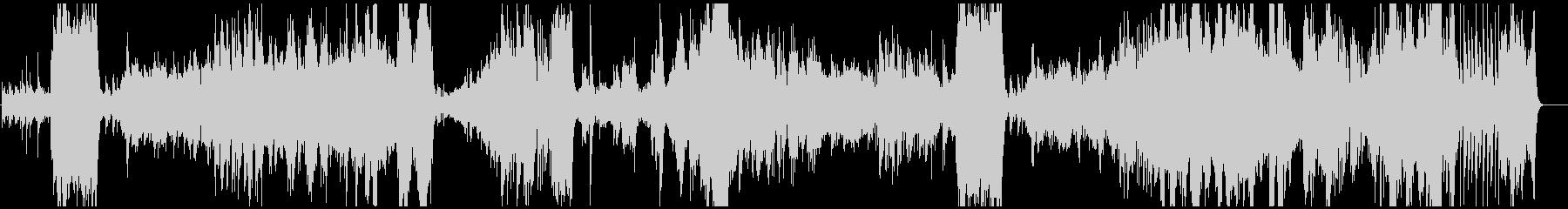 美しく繊細なピアノ・フルート・チェロの未再生の波形