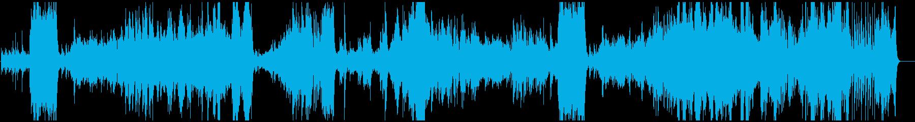 美しく繊細なピアノ・フルート・チェロの再生済みの波形