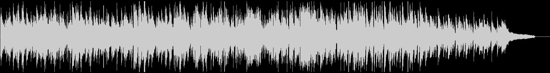 ジャズ・ボサノバ、素敵なサックスの音色の未再生の波形