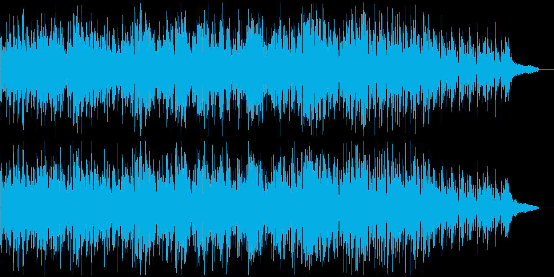 ジャズ・ボサノバ、素敵なサックスの音色の再生済みの波形