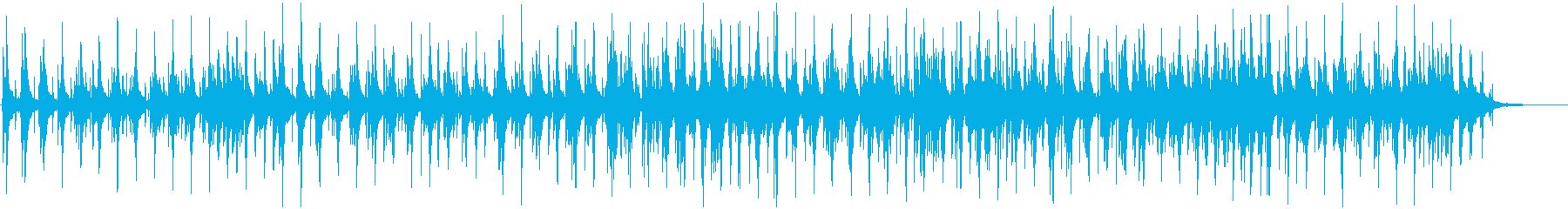 ブルージーな感じのゆっくりと優しい...の再生済みの波形