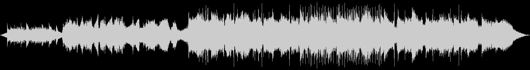 フルート&ギターの安らぎBGMの未再生の波形